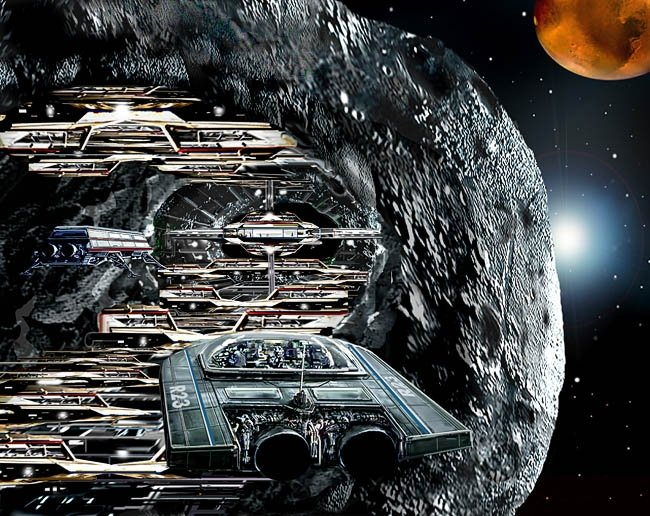 ASTEROID MINING and ORBITAL MANUFACTURING
