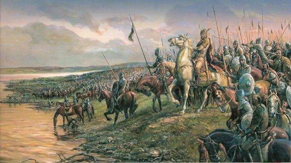 Създаване на българската държава