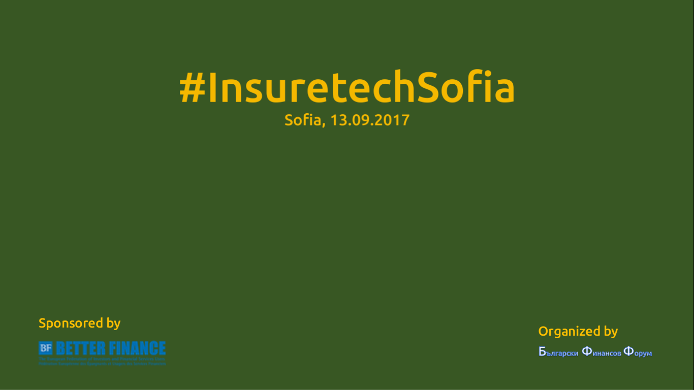 2017 #InsuretechSofia