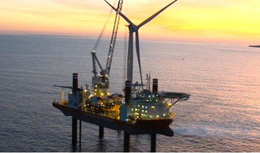 FLOATING-ISLAND WIND TURBINE PLANT FOR FUELING MOH GAS PRODUCTION