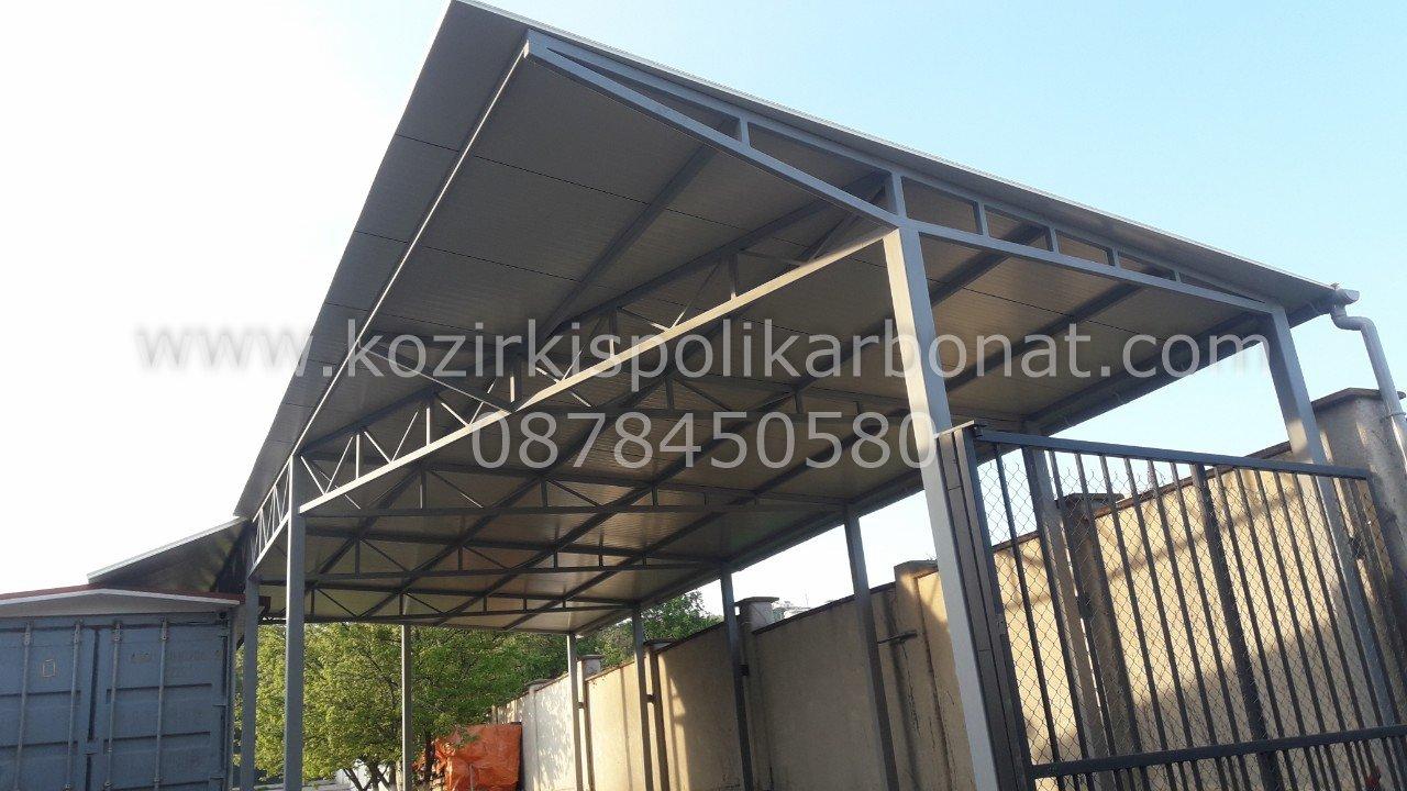 метални конструкции с термопанели