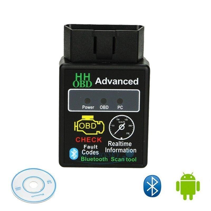 OBDII HHOBD Bluetooth скенер