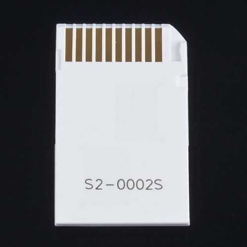 MS Pro Duo PSP адаптор за microSD карти - 2 слота