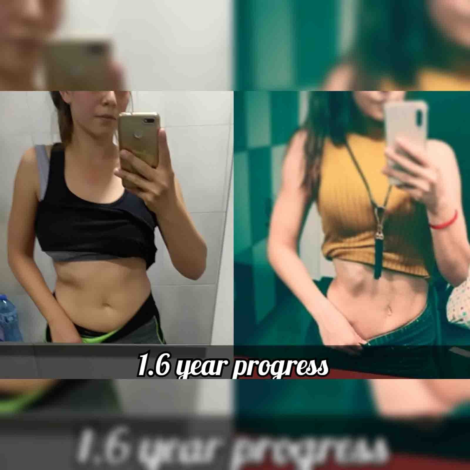 Моята промяна за отслабване и стягане на тялото с хранителен режим